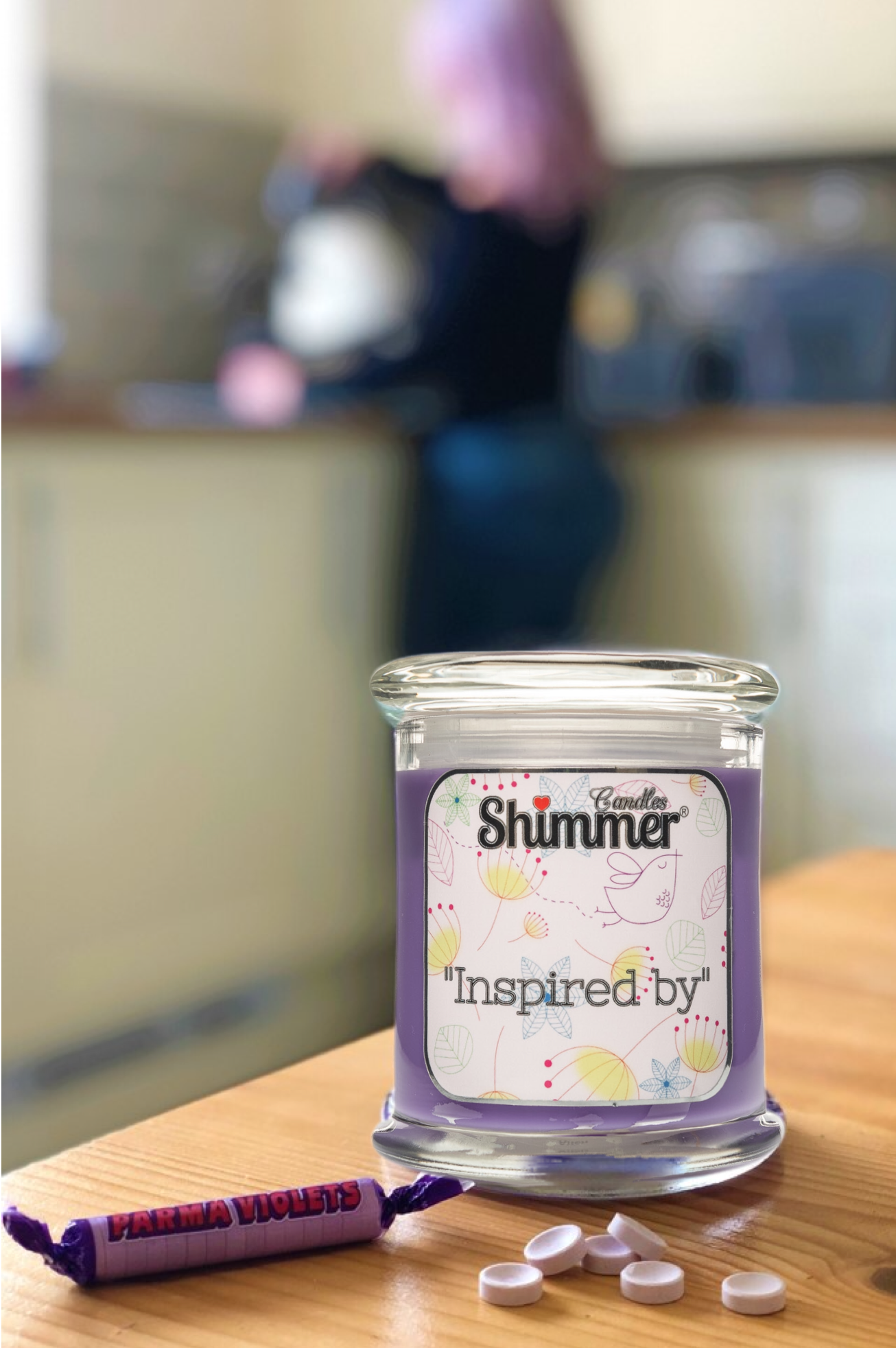 scented candles, wax melts and accessories from SHIMMER